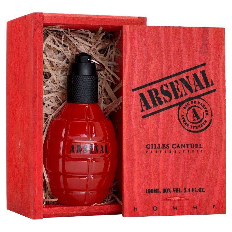 Arsenal Red Gilles Cantuel Eau de Toilette Perfume Masculino