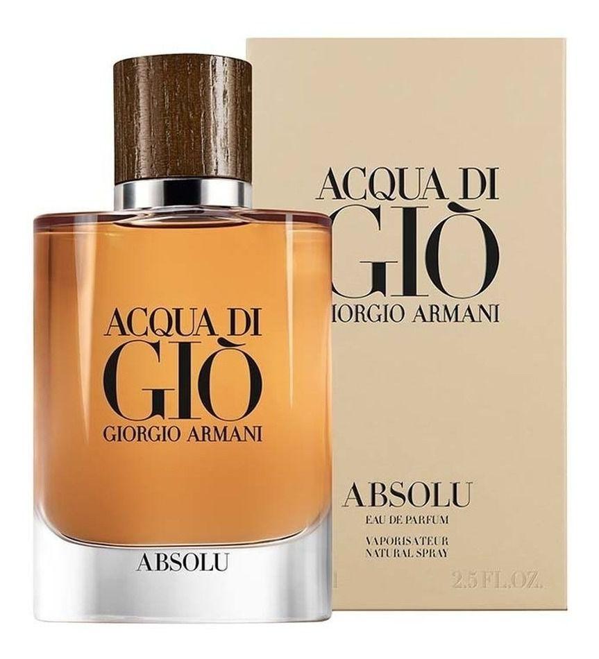 Acqua di Gio Absolu Giorgio Armani Eau de Parfum Perfume Masculino