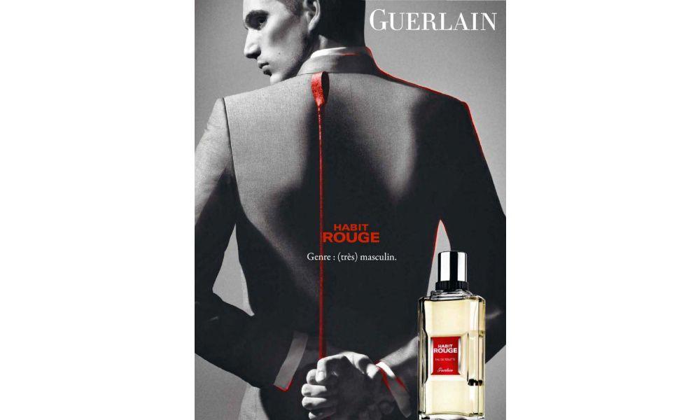 Habit Rouge Guerlain Eau de Parfum Perfume Masculino