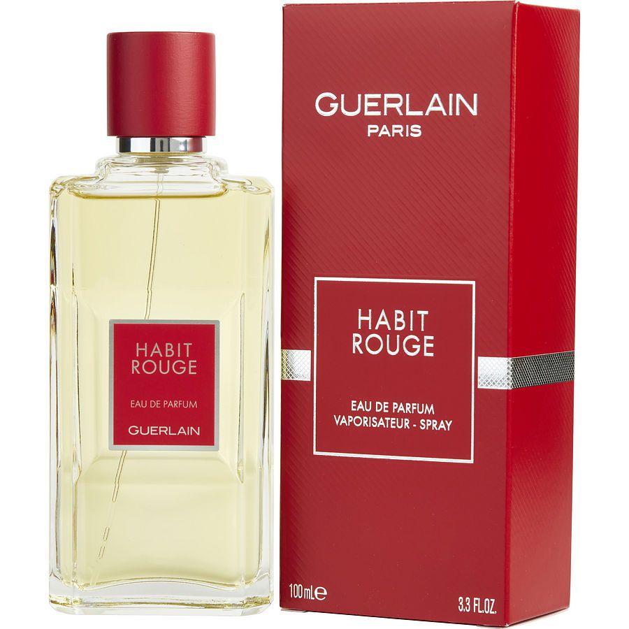 Habit Rouge Guerlain Eau de Toilette Perfume Masculino