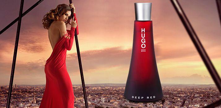 Deep Red For Women Hugo Boss Eau de Parfum Perfume Feminino