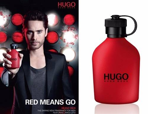 Red Hugo Boss Eau de Toilette Perfume Masculino
