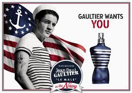 Le Male In The Navy Jean Paul Gaultier Eau de Toilette Perfume Masculino