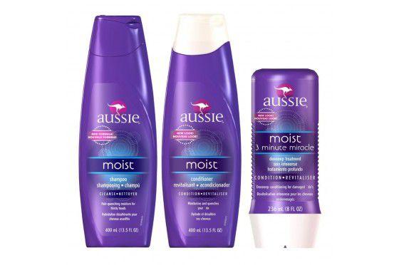 Kit Aussie - Shampoo e Condicionador 3 Moist + Mascara Moist 236 ml
