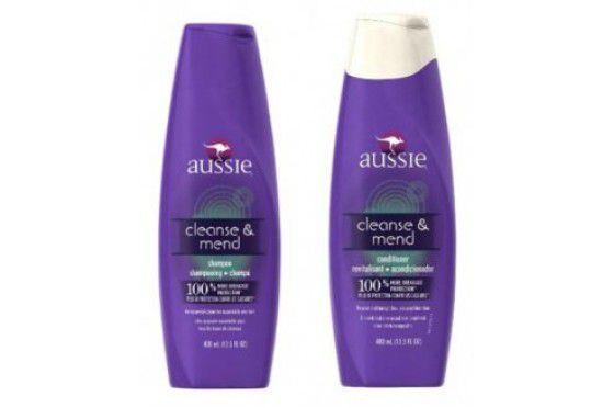 Kit Aussie - Shampoo e Condicionador Cleanse & Mend 400ml