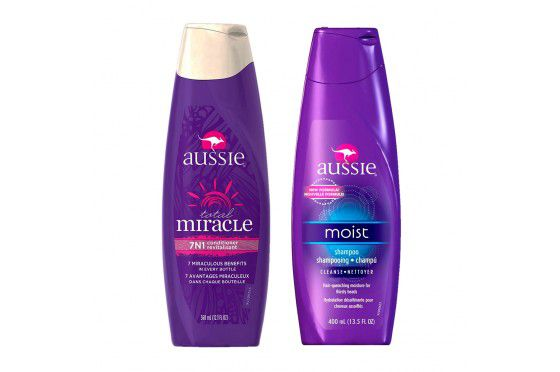 Kit Aussie Shampoo Moist 400ml + Condicionador Total Miracle 7n1 360ml