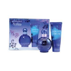 Kit Britney Spears Midnight - Eau de Parfum - 100ml + Loção Corporal 100ml