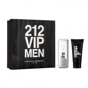 Kit Carolina Herrera 212 VIP Men - Eau de Toilette - 100ml + Loção Corporal 80ml