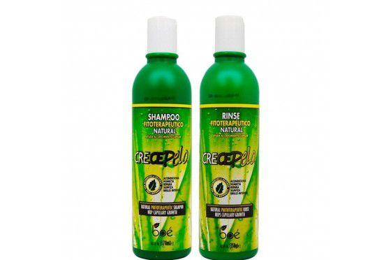 Kit Crece Pelo Shampoo 370ml + Condicionador 350ml
