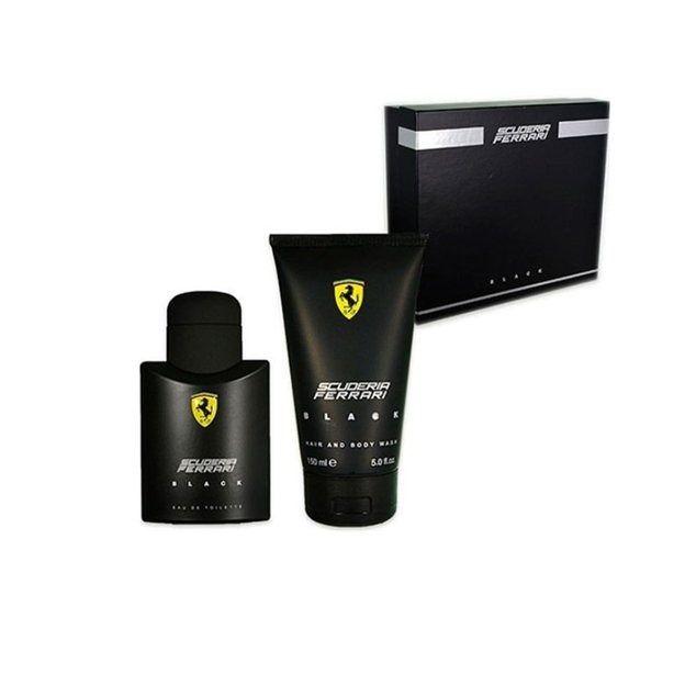 Kit Ferrari Scuderia Black - Eau de Toilette - 30ml + Gel de Banho 150ml