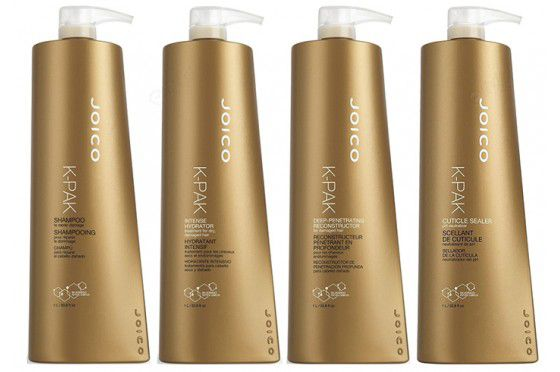 Kit Joico 4 Passos 1L (Shampoo + Reconstrutor + Cuticle Sealer +Intense)
