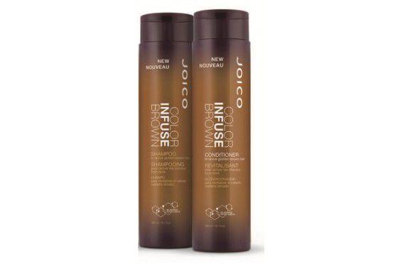 Kit Joico Shampoo e Condicionador Duo Color Infuse Brown 300ml