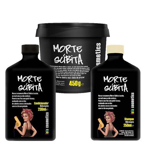 Kit Lola Cosmetics Morte Súbita 3 Produtos (Shampoo+Condicionador+Máscara)