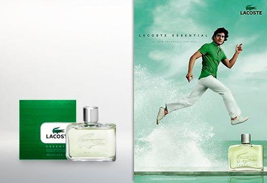 Essential Lacoste Eau de Toilette Perfume Masculino
