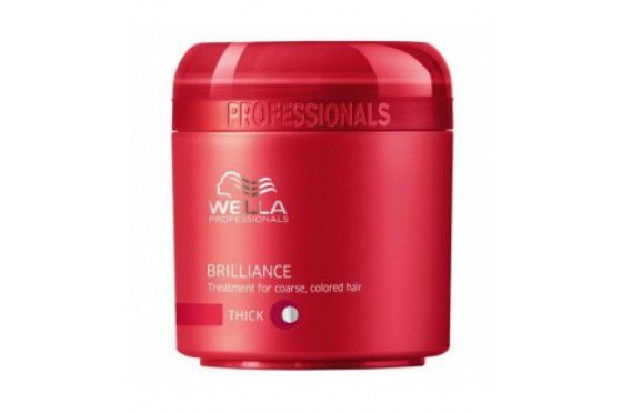 Máscara Briliance Wella Thick 150ml