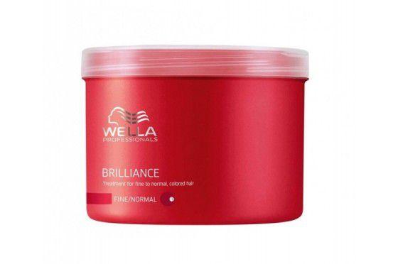 Máscara de Tratamento Brilliance Wella Thick 500ml