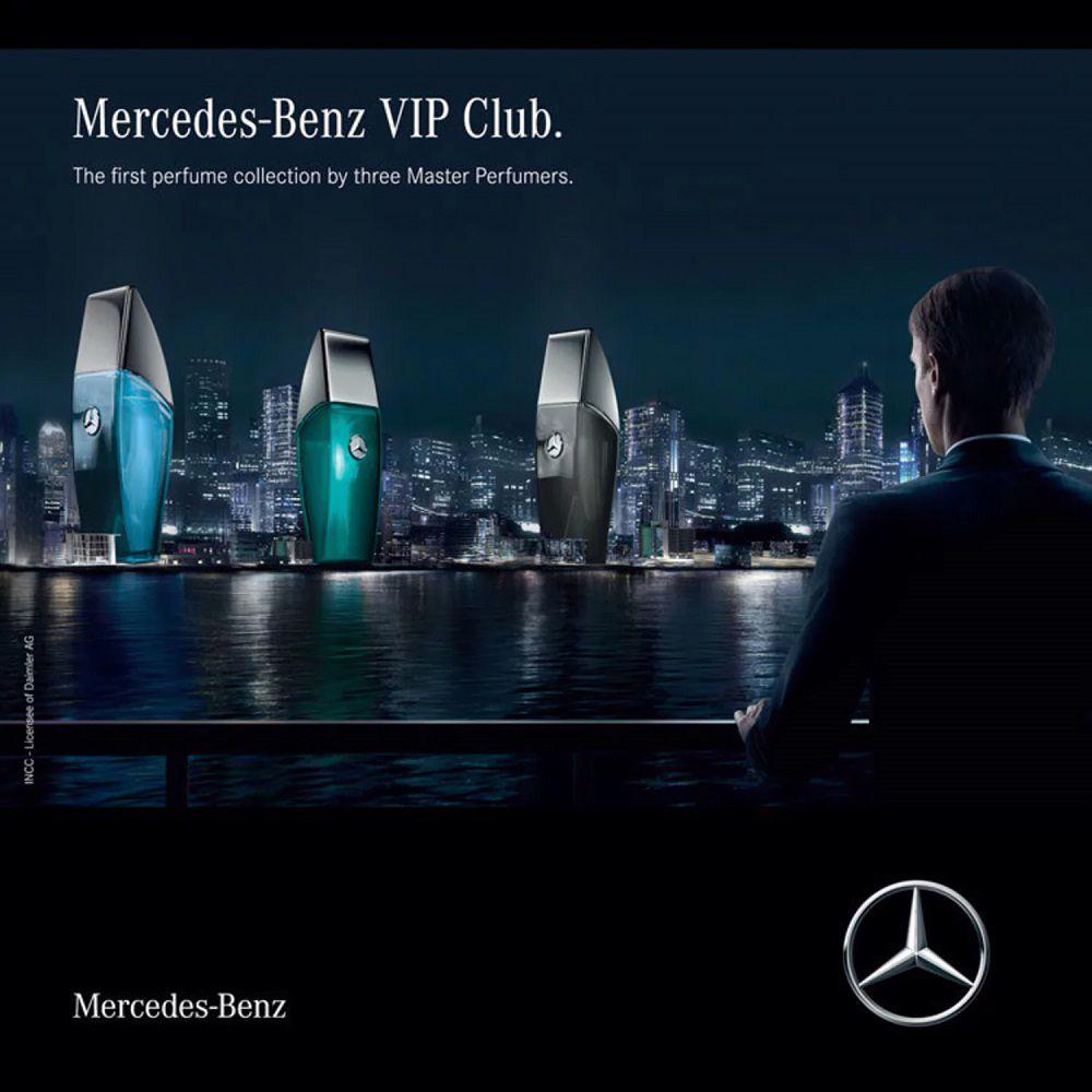 Club Black Mercedes Benz Eau de Toilette Perfume Masculino