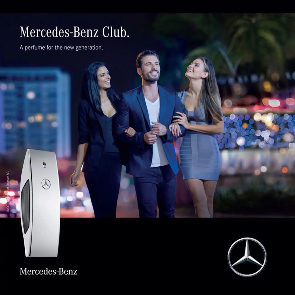Club Mercedes Benz Eau de Toilette Perfume Masculino