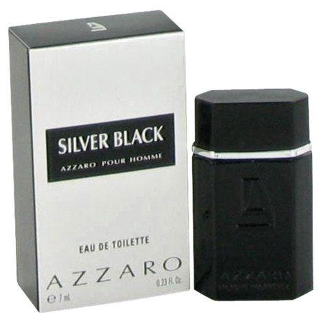Miniatura Azzaro Silver Black Eau de Toilette Masculino 7ML