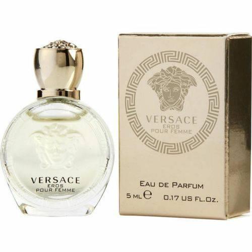 Miniatura Versace Eros Pour Femme Eau de Parfum Feminino 5ML