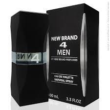 New Brand 4 Men Eau de Toilette Masculino