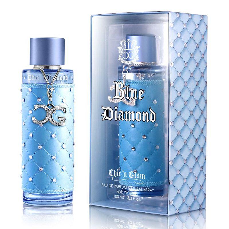 New Brand Chic n Glam Blue Diamond Eau de Parfum Feminino