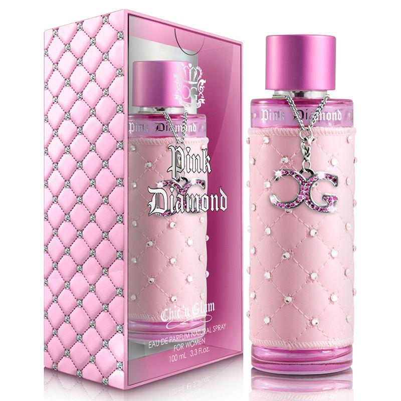 New Brand Chic n Glam Pink Diamond Eau de Parfum Feminino