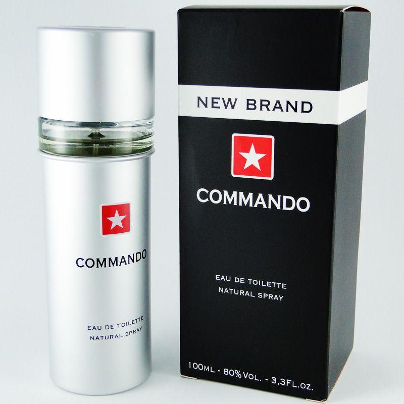 New Brand Commando Eau de Toilette Masculino