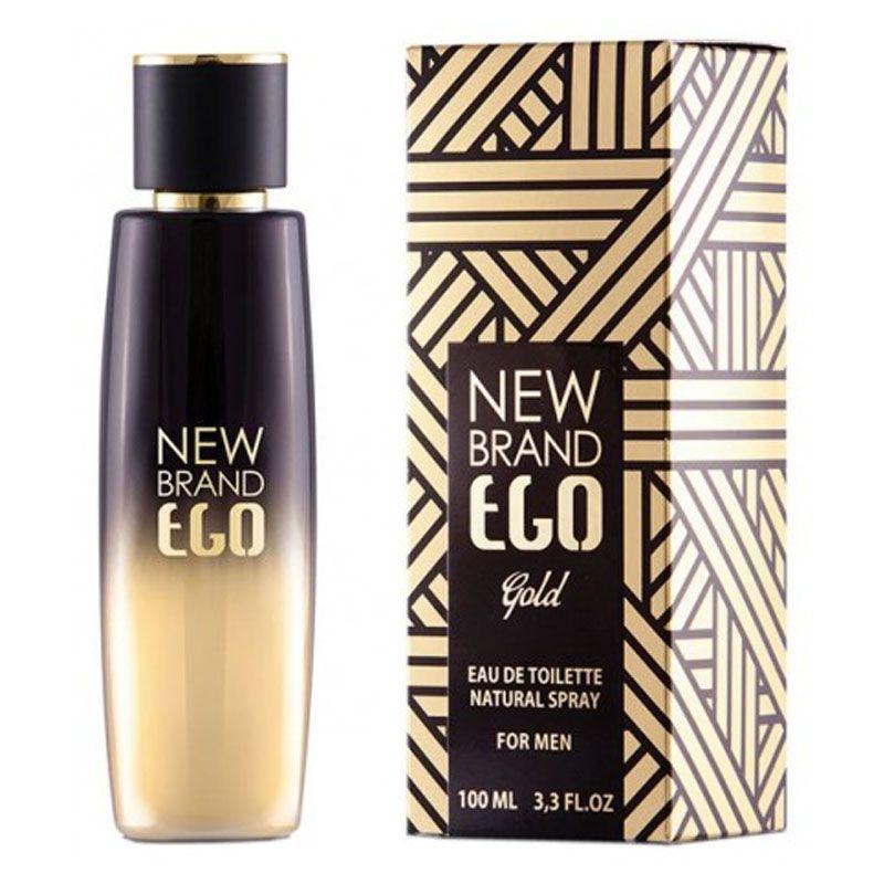 New Brand Ego Gold For Men Eau de Toilette Masculino