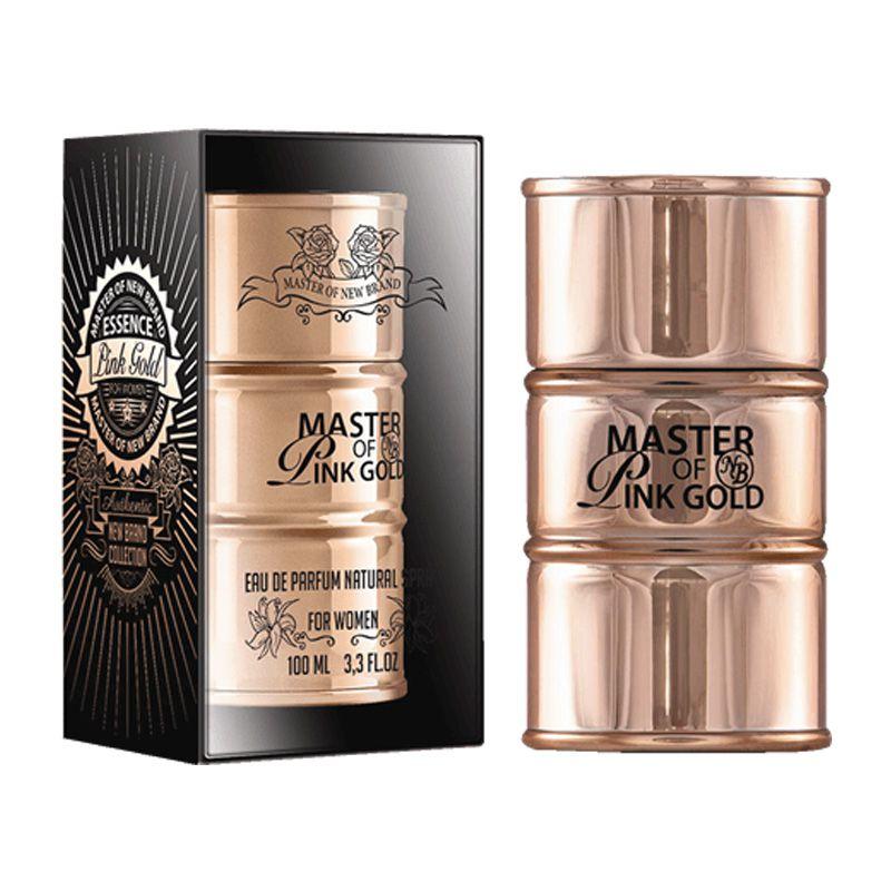 New Brand Master Essence Gold Femme Eau de Parfum Feminino