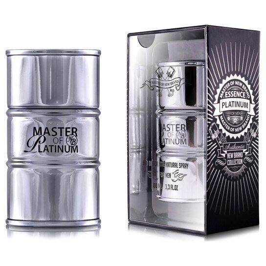 New Brand Master Essence Plat For Men Eau de Toilette Masculino
