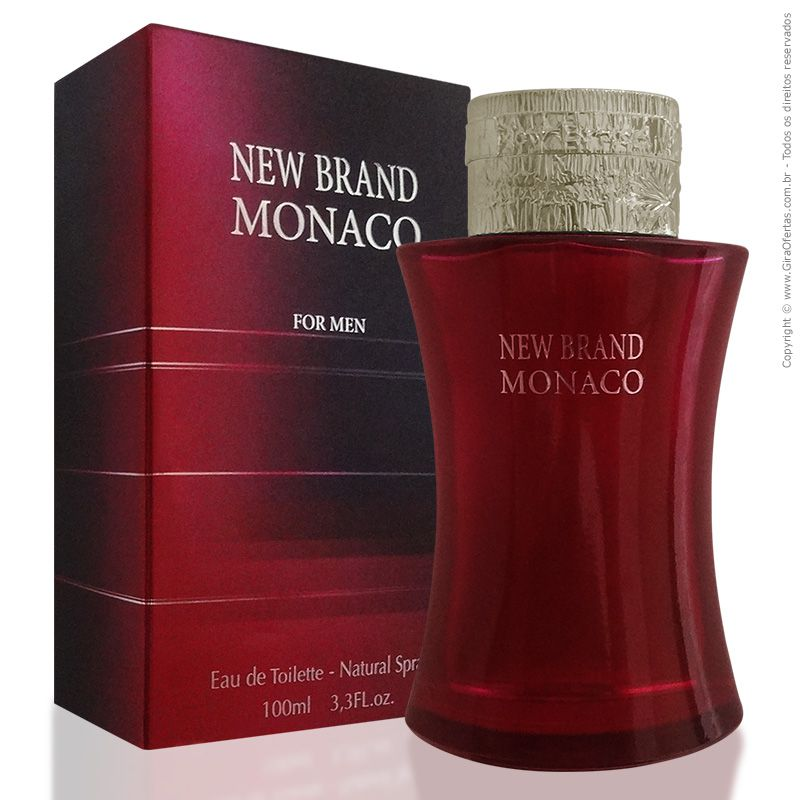 New Brand Monaco For Men Eau de Parfum Masculino