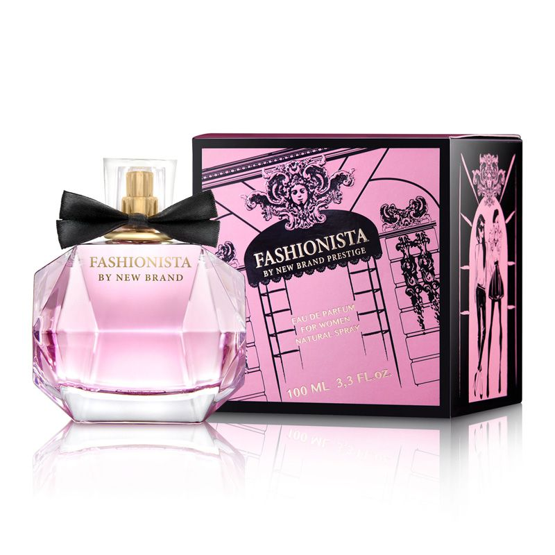 New Brand Prestige Fashionista Eau de Parfum Feminino