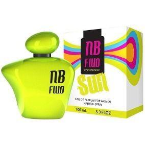 New Brand Prestige Fluo Sun For Woman Eau de Parfum Feminino
