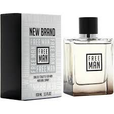 New Brand Prestige Free Man Eau de Toilette Masculino