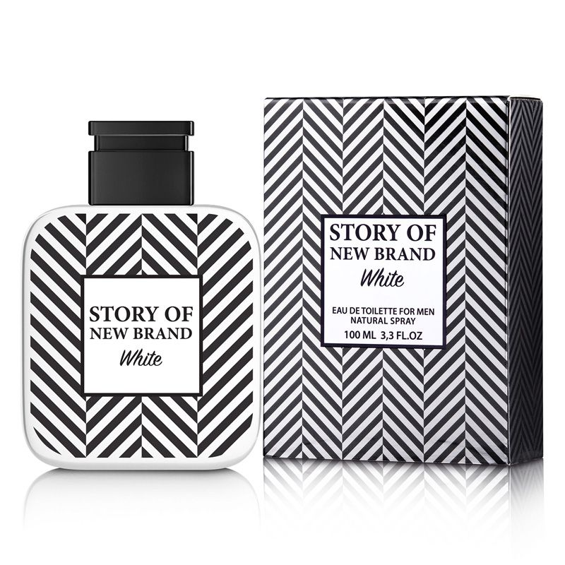 New Brand Story of White Eau de Toilette Masculino