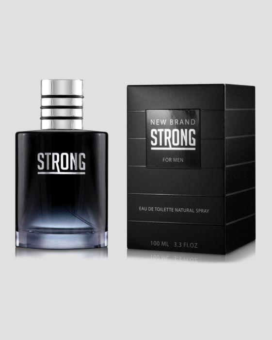 New Brand Strong For Men Eau de Toilette Masculino