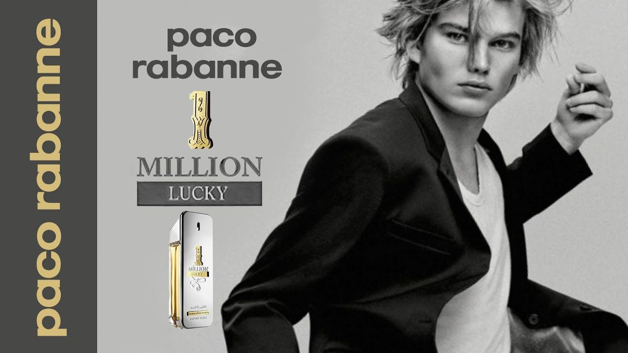 1 Million Lucky Paco Rabanne Eau de Toilette Perfume Masculino