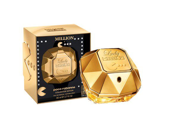 Lady Million Pac Man Edition Limited Paco Rabanne Eau de Parfum Perfume Feminino