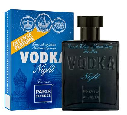 Paris Elysees Vodka Night Man Eau de Toilette Masculino