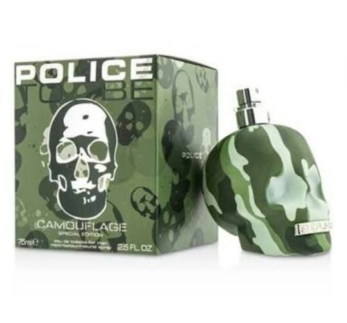 Police To Be Camouflage Special Edition Eau de Toilette Masculino
