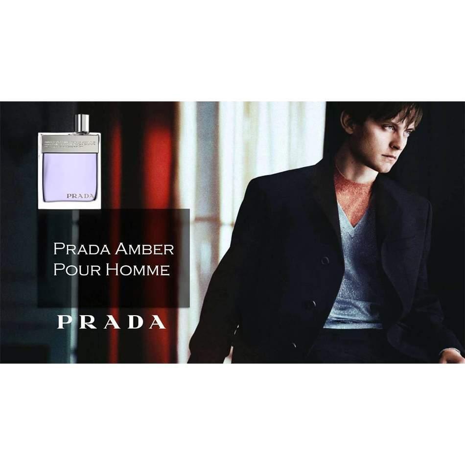 Amber Pour Homme Prada Eau de Toilette Perfume Masculino