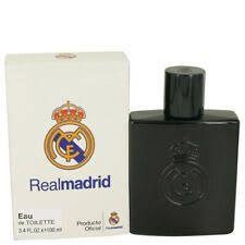 Real Madrid Air Val Int FC Black Eau de Toilette Masculino