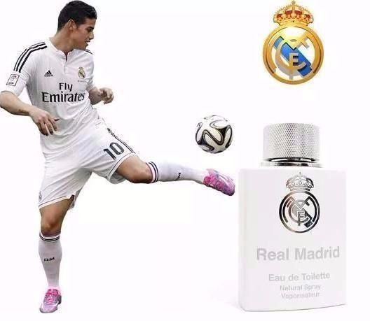 Real Madrid Eau de Toilette Masculino