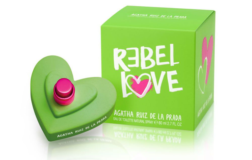 Rebel Love Agatha Ruiz Eau de Toilette Perfume Feminino