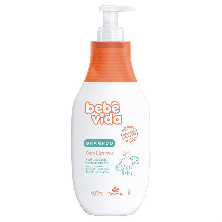 Shampoo Infantil Davene Bêbe Vida 400ML