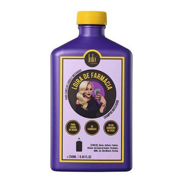 Shampoo Loira de Farmácia Lola Cosmetics 250ml