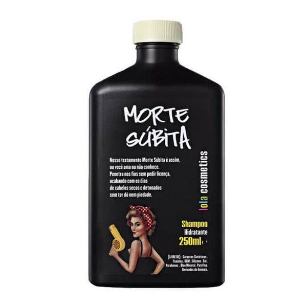 Shampoo Morte Súbita Lola Cosmetics 250ml