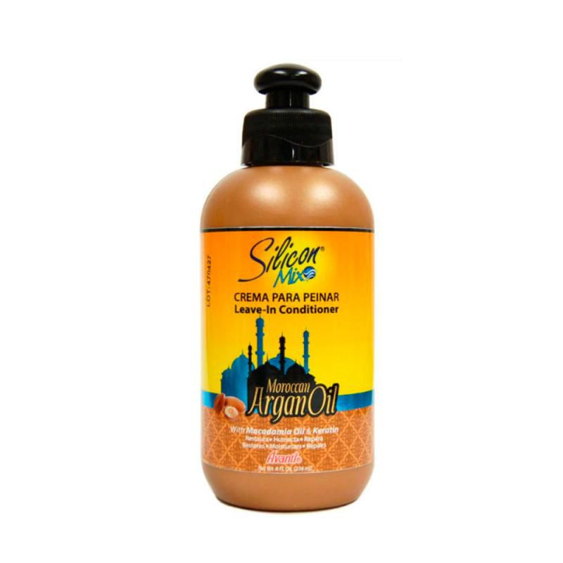 Silicon Mix Moroccan Argan Oil Leave in 236ml
