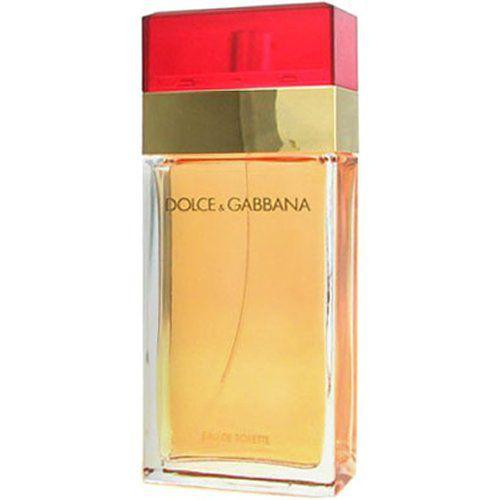 Vermelho Dolce e Gabbana Eau de Toilette Perfume Feminino